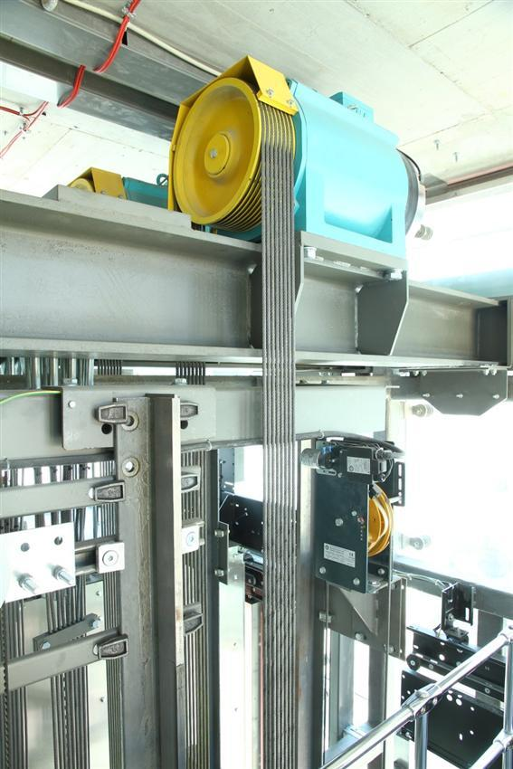 آسانسور بدون موتورخانه (MRL)